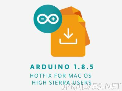 Arduino IDE 1.8.5: Hotfix For MacOs High Sierra Users