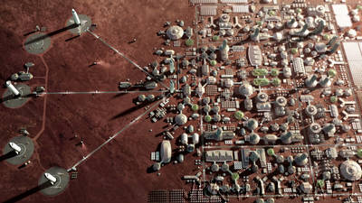 SpaceX unveils Mars city plan, will fly two cargo missions by 2022