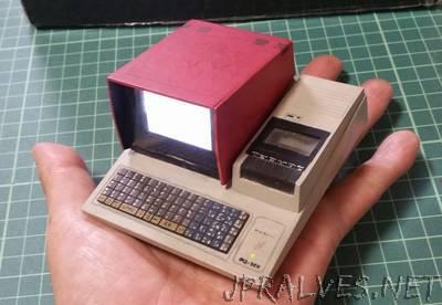 Miniature MZ-80K