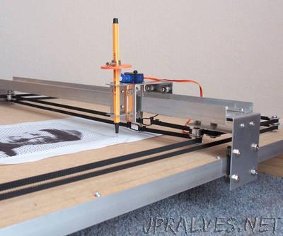 CoreXY CNC Plotter - jpralves net