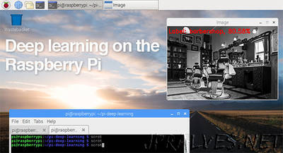 Deep learning on the Raspberry Pi with OpenCV