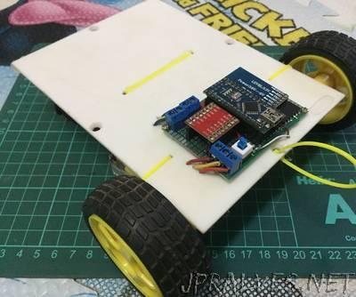 Simple RC Car (Arduino Nano + HC-05)