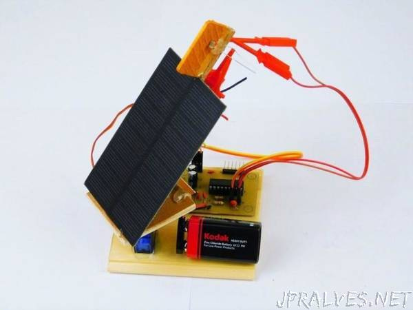 How to Make a Solar Panel Tracking System