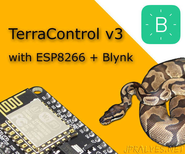 TerraControl V3.0 - ESP8266 + BLYNK