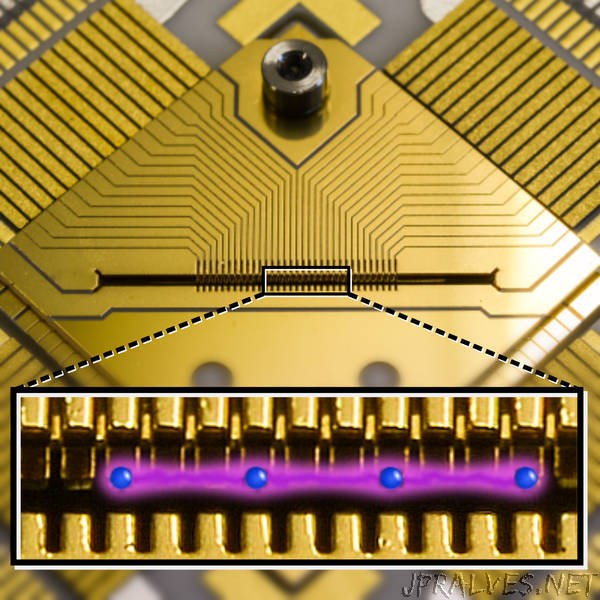 Quantum computing on the move