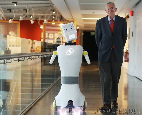 Trinity engineers unveil Ireland's first prototype robot for assisted care