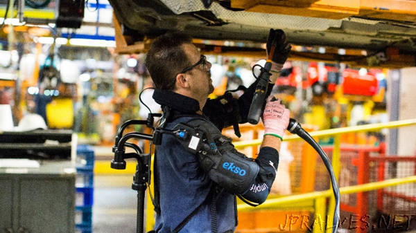 Ford Pilots New Exoskeleton Technology To Help Lessen Chance Of Worker Fatigue, Injury