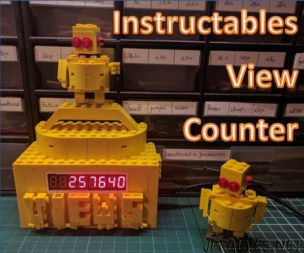 Instructables View Counter