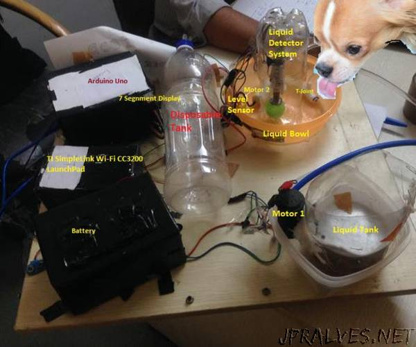 IoT Food Feeder for Animals