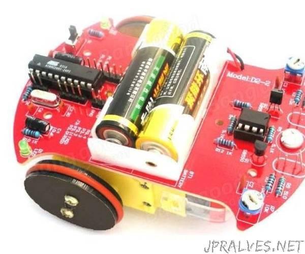 Modifying a Robot FLR D2-2