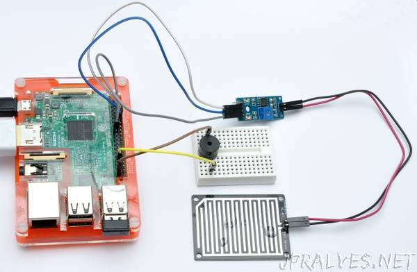 Make a Rain Alert System with Raspberry Pi