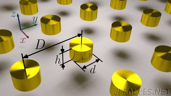Scientists sug­gested using titanium nitride instead of gold in optoelectronics