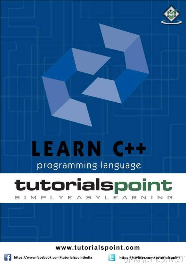 tutorialspoint - Learn Cpp programming language