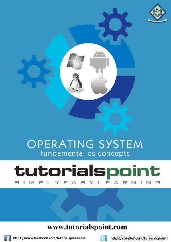 tutorialspoint - Operating System - fundamental OS concepts