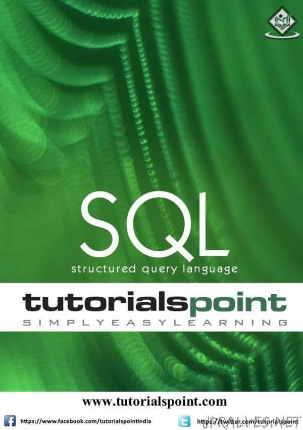 tutorialspoint - SQL