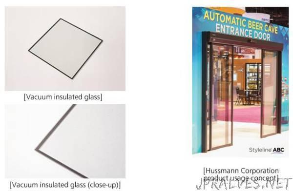 Panasonic Develops Unique Vacuum Insulated Glass Based on Its Plasma Display Panel Technology