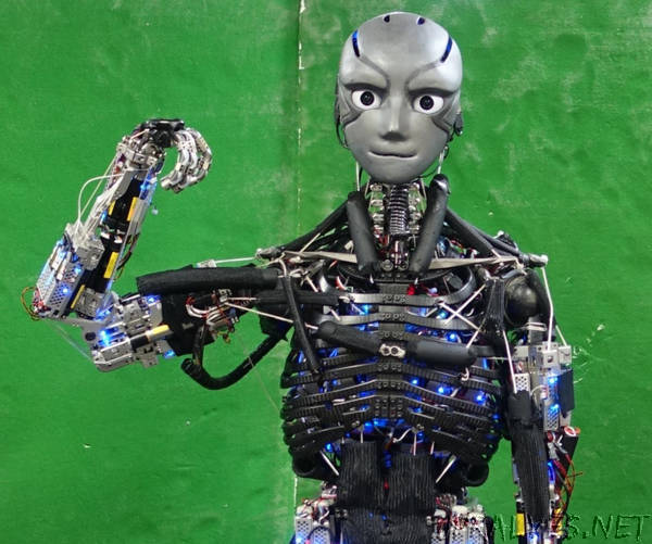 This humanoid robot works out (and sweats) like we do (or should)