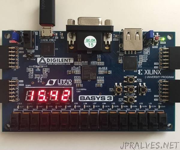 VHDL Stopwatch