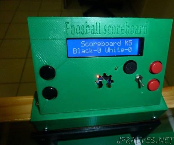 Foosball Scoreboard
