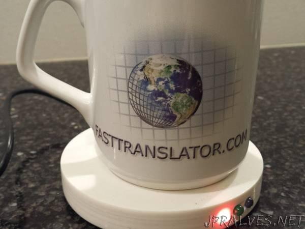 Jens Temperature Sensor Coaster