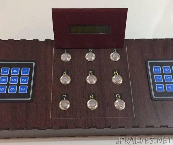 Tic Tac Toe Game With Arduino Mega 2560