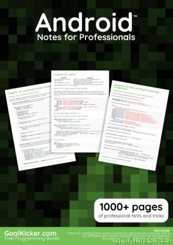 Android™ Notes for Professionals book