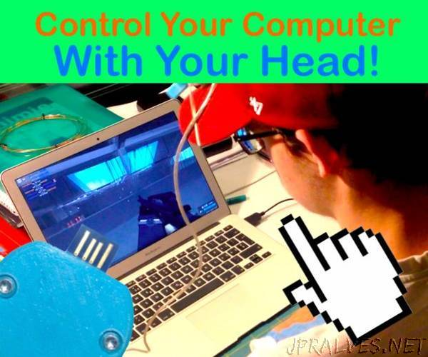 Control Your Computer With Your Head!