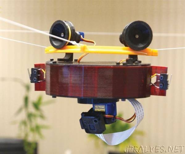 Home-Made 3d Printed Camera Drone