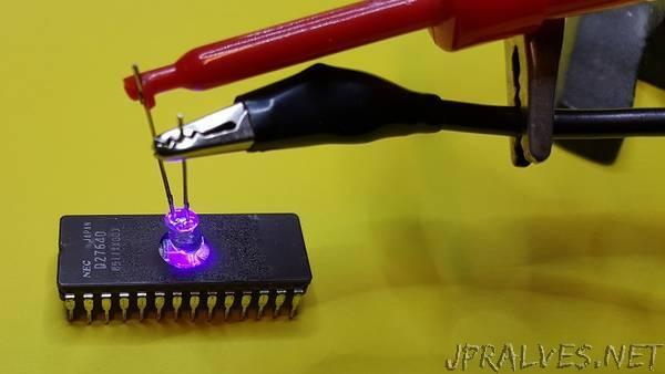 Improvising an EPROM programmer - jpralves net
