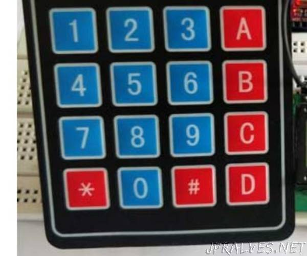 Arduino Calculator Using The Keypad