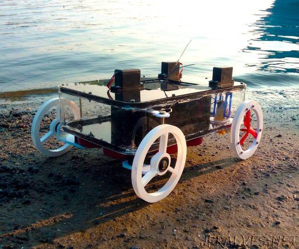 Arduino Rc Amphibious Rover