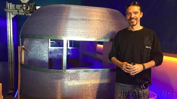 Saskatoon man develops largest 3D-printed camper