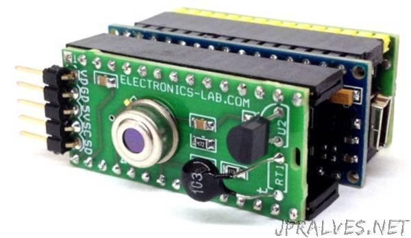 3 in 1 temperature sensor shield for Arduino Nano