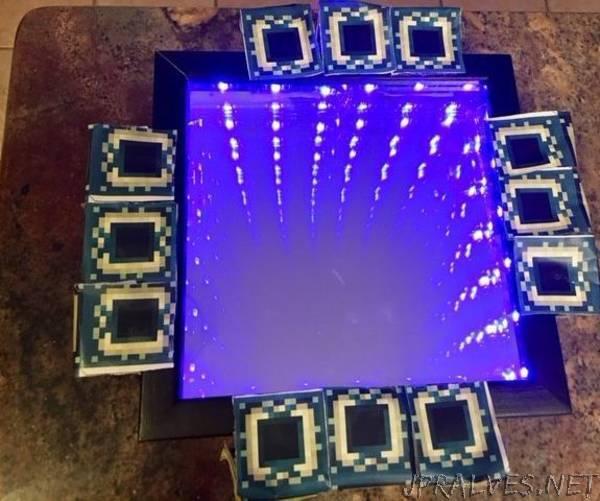 Minecraft End Portal Infinity Mirror Jpralves Net