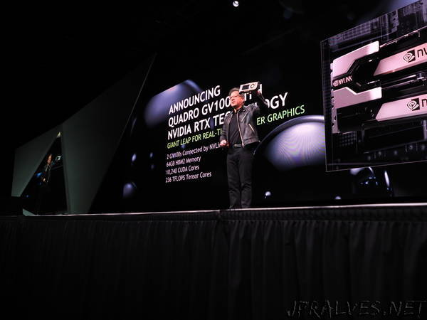 NVIDIA RTX Technology Delivers Biggest Advance in Computer Graphics in 15 Years