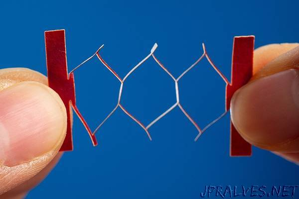 Variation of origami poised to improve smart clothing