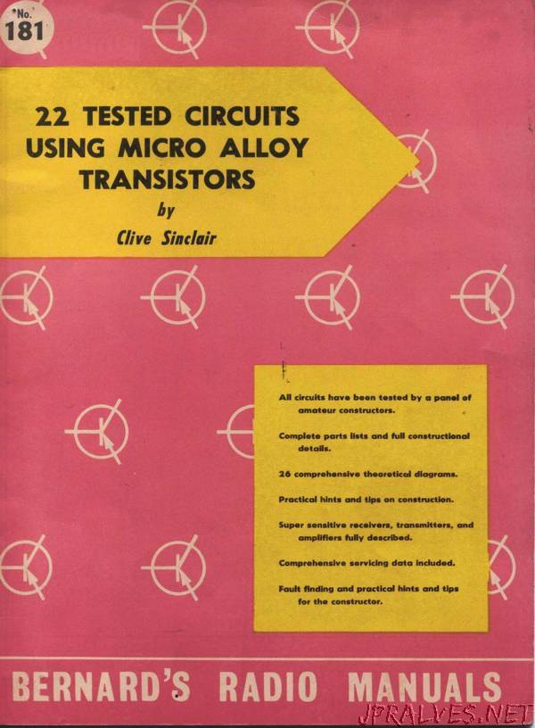 22 Tested Circuits Using Micro Alloy Transistors
