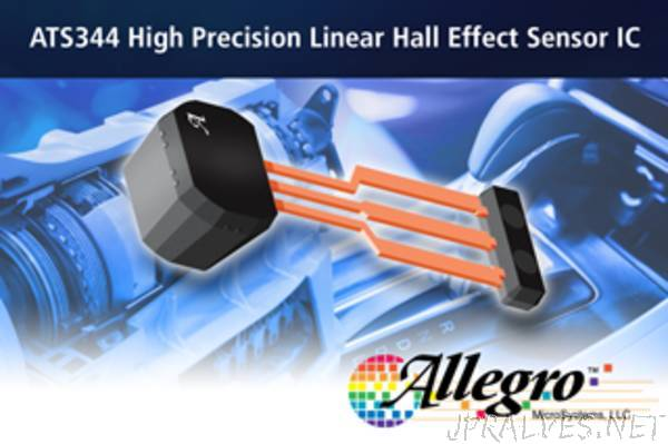 Allegro MicroSystems, LLC announces new back-biased differential linear Hall sensor IC