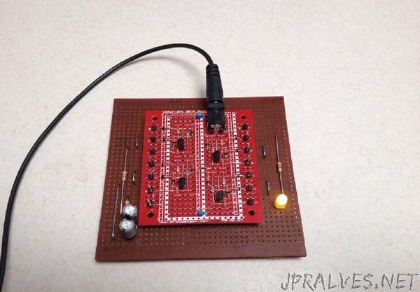 A Discrete Transistor 7400 NAND GATE