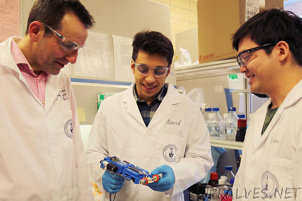 U of T researchers develop portable 3D skin printer to repair deep wounds