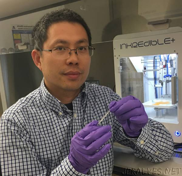 UTA researchers develop highly elastic biodegradable hydrogel for bio-printing of new tissues