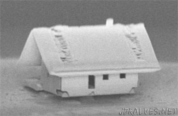 Robotic Assembly of the World's Smallest House -- Even A Mite Doesn't Fit Through the Door!