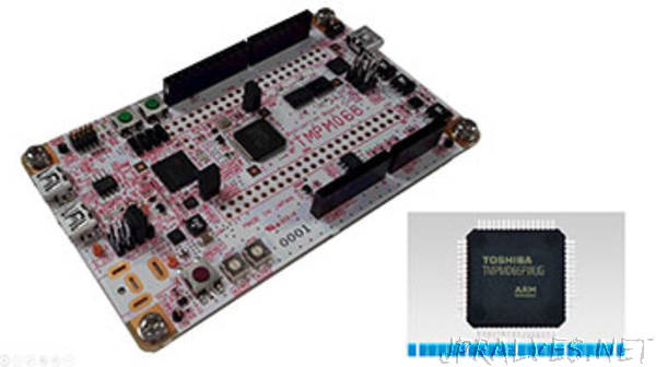 Toshiba's Arm Cortex M Core-based Microcontrollers Support Mbed OS