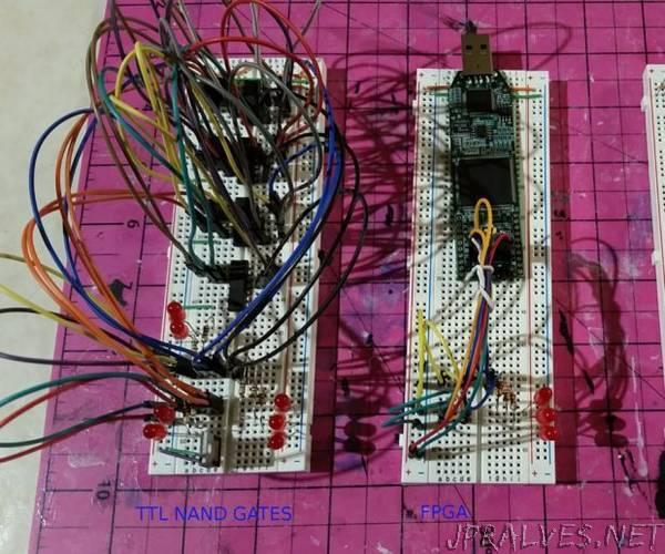 Arduino As a Cheap Breadboard FPGA