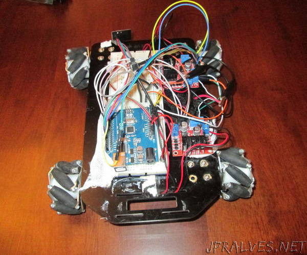 RC Rover Controlled by Gestures Motions & Joyestick