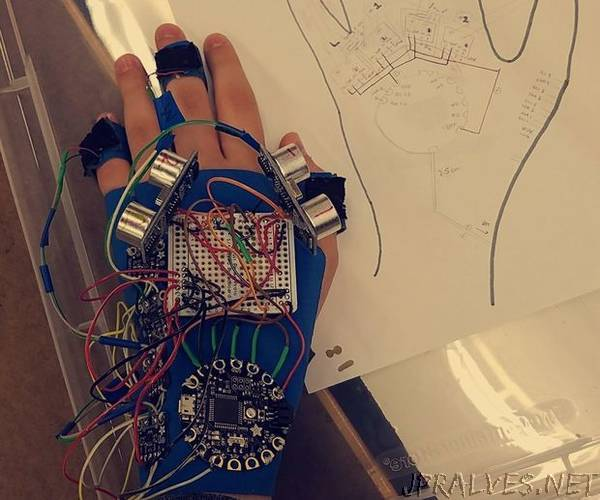 Haptic Glove for the Blind