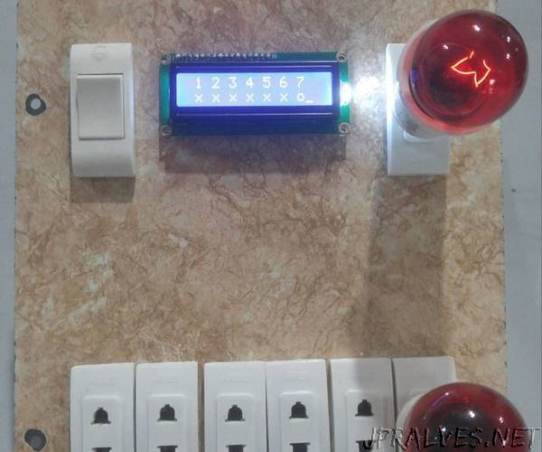 Home Automation: Automatic Switch Board With Dimmer Control Via Bluetooth Using Tiva TM4C123G