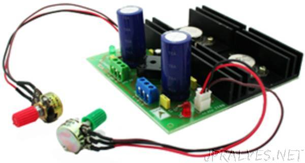 Dual Adjustable Power Supply
