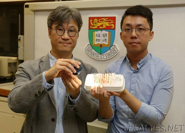 Future robots need no motors HKU Engineering invents world's first nickel-hydroxide actuating material that can be triggered by both light and electricity