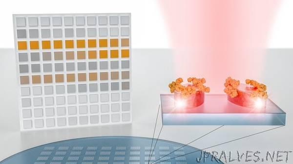 A nanotech sensor turns molecular fingerprints into bar codes